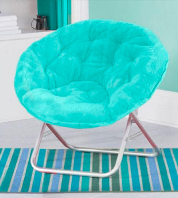 Review of Mainstay WK656338 Saucer Chair, Wind Aqua
