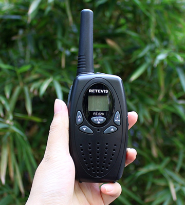 Review of Retevis RT628 Kids Walkie Talkies, VOX