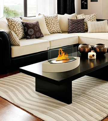 Review of Anywhere Fireplace 90207 Lexington Tabletop Ethanol Fireplace