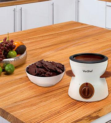Review of VonShef Electric Chocolate Fondue Melting Pot