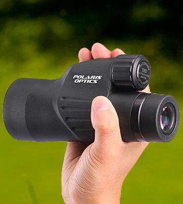 Review of Polaris Optics High Powered Monocular  Bright and Clear Range of View, Waterproof