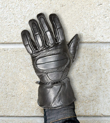 Review of Jackets 4 Bikes ZW_R_1967 Premium Leather Motorcycle Protective Cruiser Biker Gloves