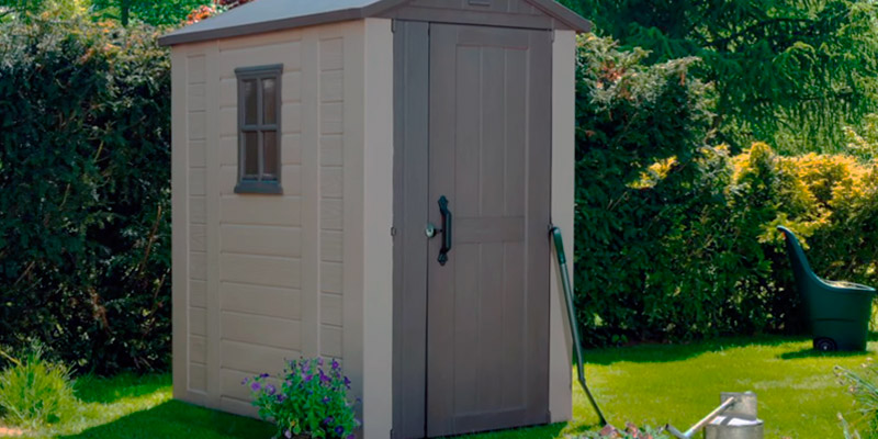 Detailed review of Keter Resin Outdoor Backyard Garden Storage Shed