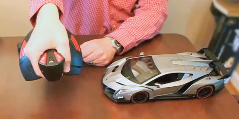RW Lamborghini Sport Racing RC Car in the use