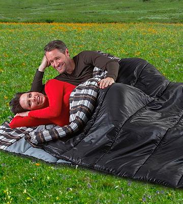 Review of American Trails Ozzie and Harriet Sleeping Bag