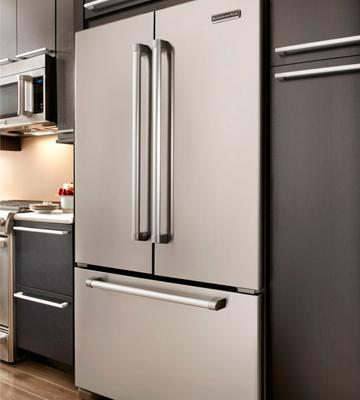 Review of Kitchenaid 21.95 Cu.Ft. French Door Refrigerator