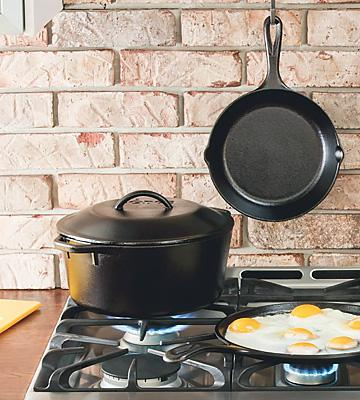 Review of Lodge Pre-Seasoned Cast Iron 5-Quart Dutch Oven