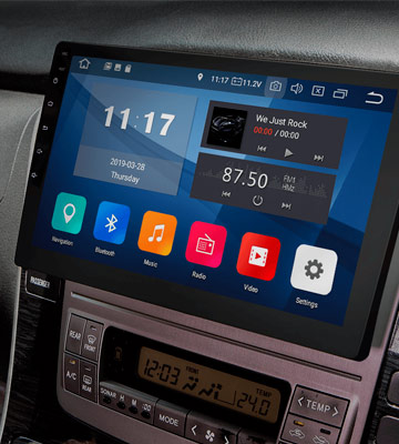 Review of Eonon GA2178-Android 9.0-Bluetooth 5.0 Double Din Car Stereo