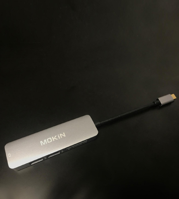 Review of MOKiN A1501 USB C HDMI Hub Adapter for MacBook Pro