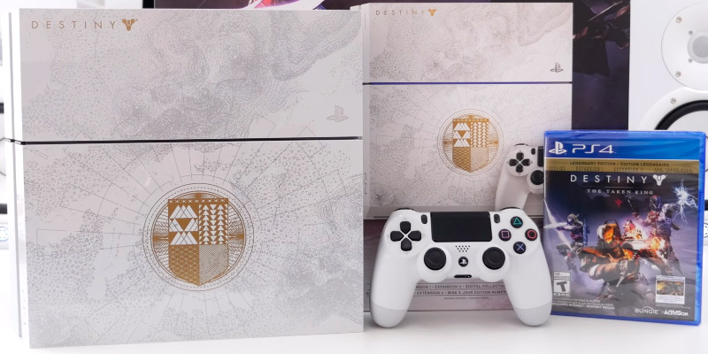 Sony PlayStation 4 Limited Edition Console Destiny: The Taken King Bundle in the use