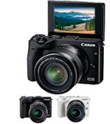 Canon EOS M3 Mirrorless Camera Kit