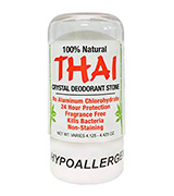 THAI Natural Crystal Unscented, 4.25 oz Deodorant Stick