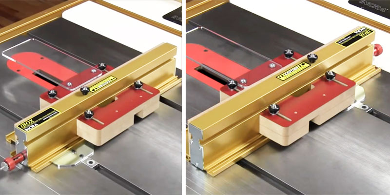 INCRA I-BOX Jig for Box Joints application
