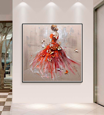 Review of Artoree Back Girl 5D DIY Diamond Painting Tree Diamond Painting