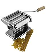 CucinaPro 190 Imperia Titania Pasta Maker w Easy Lock Dial and Wood Grip Handle