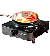 Aroma Housewares AHP-303 Single Hot Plate