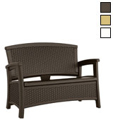 Suncast Loveseat with Storage