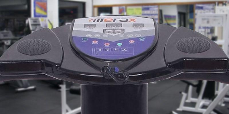 Merax Carzy Fit Vibration Platform Fitness Machine in the use