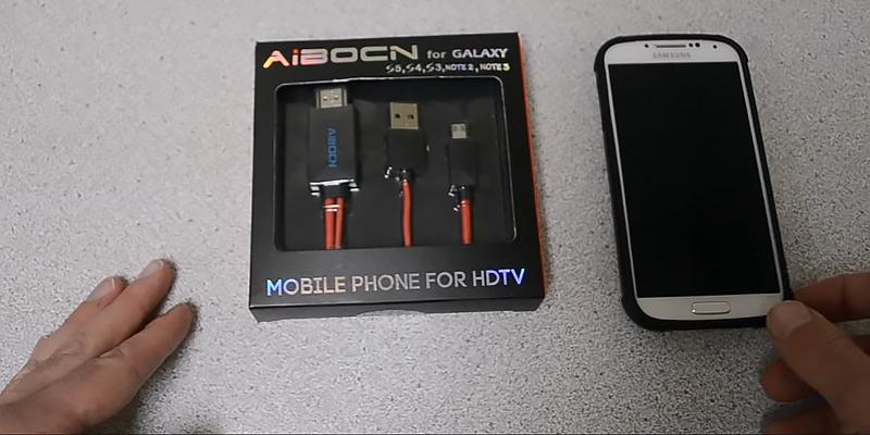 Review of Aibocn LN-2322RD Micro USB to HDMI Cable
