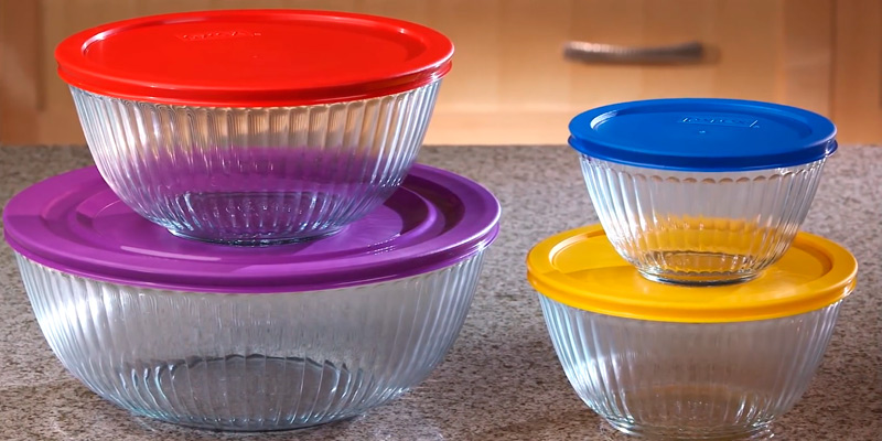 Review of Pyrex Limited Edition Glass Bowl Set