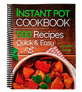 Instant Pot Pressure Cooker Cookbook: Spiral-bound 500 Everyday Recipes for Beginners and Advanced Users