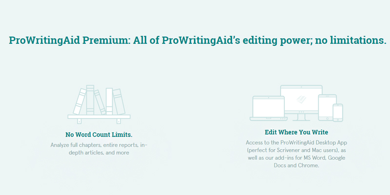 Detailed review of ProWritingAid Grammar Checker & Style Editing tool
