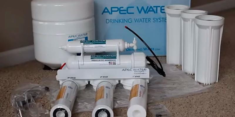 Review of APEC ROES-50 5-Stage Reverse Osmosis Drinking Water Filter System