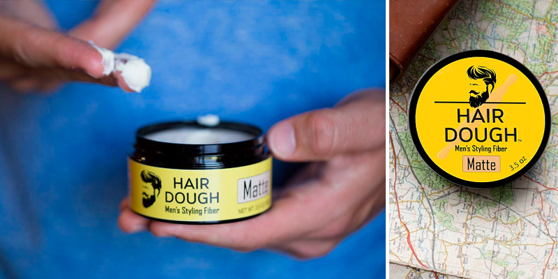 Review of Hair Dough Matte Molding Hair Wax Paste