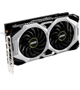 MSI GeForce RTX 2060 VENTUS Graphics Card (6GB GDRR6, 192-bit)