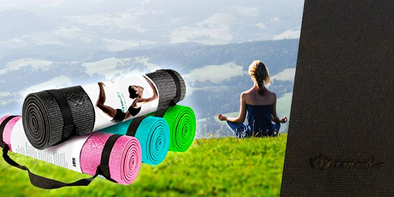 Zen Active Extra Thick Yoga Mat in the use