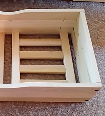 Review of World of Futons Wooden Under Bed Storage Drawers Rolling Organizers