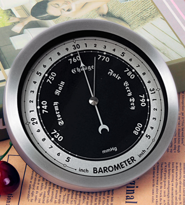Review of Ambient Weather WS-152B 6 Contemporary Barometer