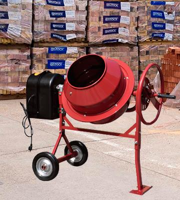 Review of Northern Industrial CM125 Mini Electric Cement Mixer