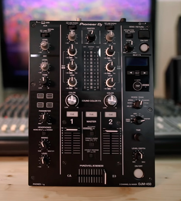 Review of Pioneer DJM-450 2-Channel DJ Mixer
