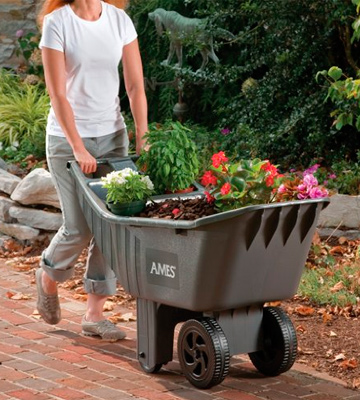 Review of Ames Easy 2463875 Roller Poly Yard Cart