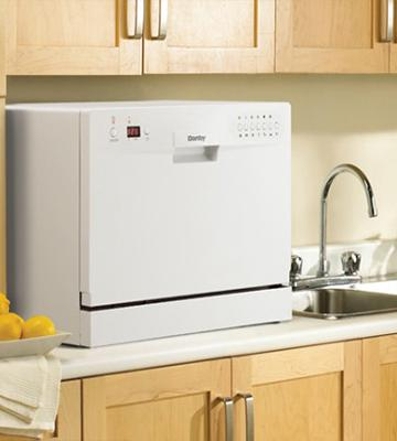 Review of Danby 6 Place Settings Countertop Dishwasher, White
