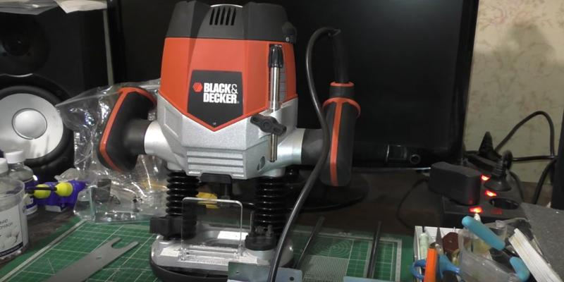 Detailed review of BLACK+DECKER RP250 Variable Speed Plunge Router
