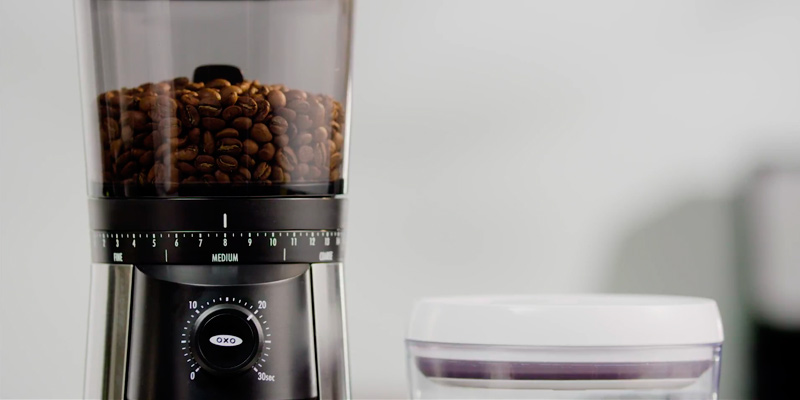 Detailed review of OXO BREW 8717000 Conical Burr Coffee Grinder