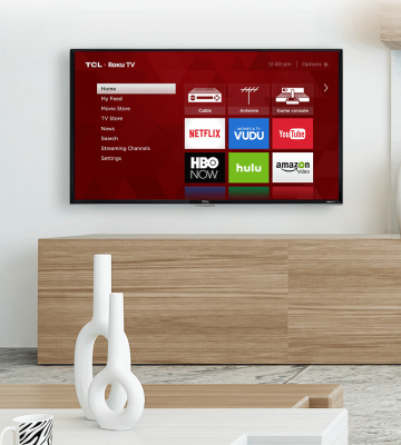 Review of TCL (40S325) 40-Inch 1080p Smart LED Roku TV (2019)