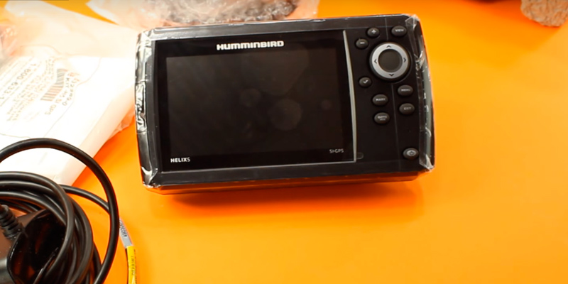 Humminbird Helix GPS G2 in the use
