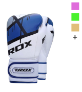 RDX Maya Hide Leather Kickboxing Muay Thai Sparring Gloves