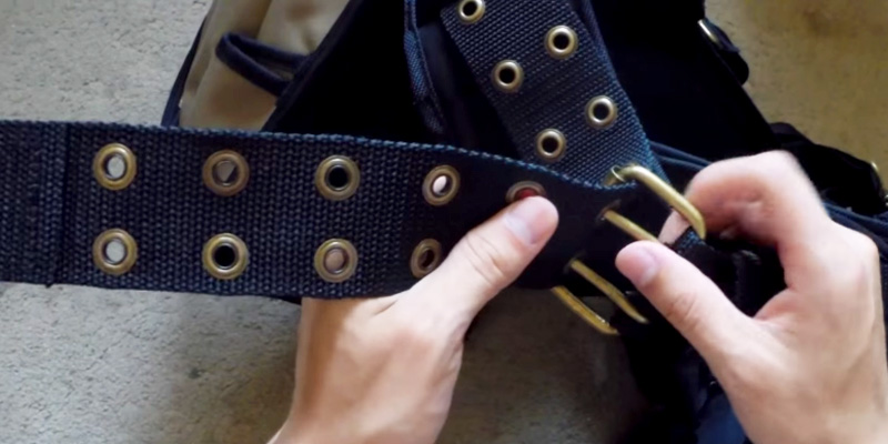 Detailed review of Custom Leathercraft Tool Belt System