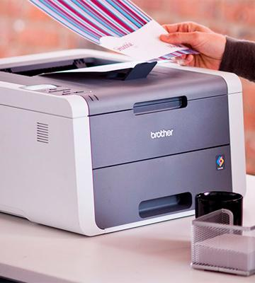 Review of Brother HL3140CW Digital Color Printer with Wireless Networking