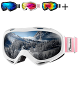 OutdoorMaster OTG Over Glasses Ski Goggles