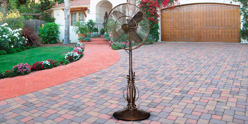 Review of Dynamic Collections Scrolls Outdoor Oscillating Fan with Misting Kit
