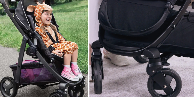Review of Graco Modes Click Connect Stroller