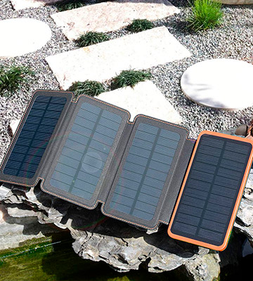 Review of Hiluckey HI-S025 25000mAh Solar Charger