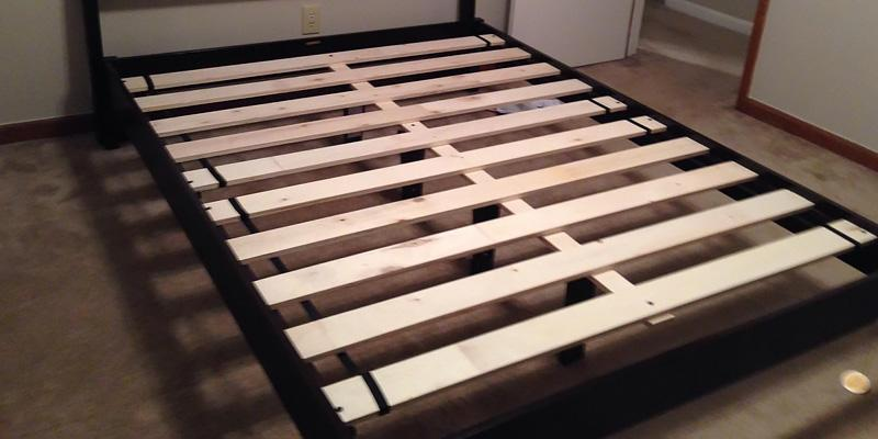 Review of Best Price Mattress SPI-N-Q Hardwood Platform Bed