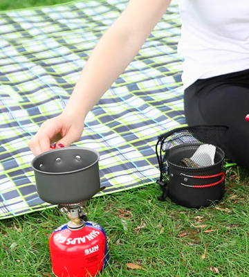 Review of Bulin 3 PCS Camping Cookware Mess Kit