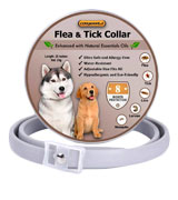 COSYWORLD Adjustable & Waterproof Flea and Tick Collar